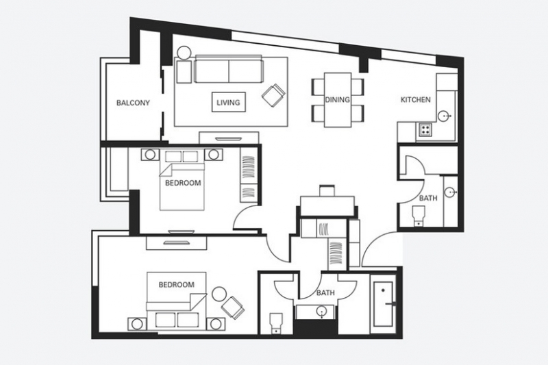 Fraser Residence Two Bedroom Executive