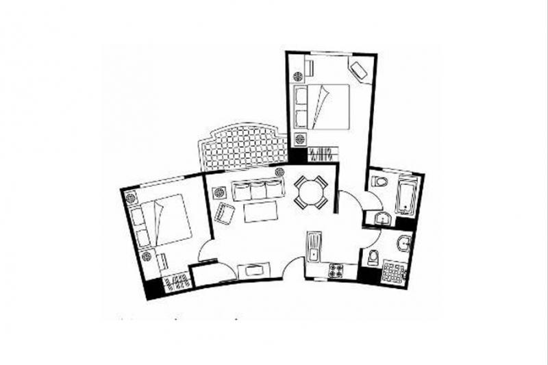 Somerset Xuhui 2-Bedroom Deluxe