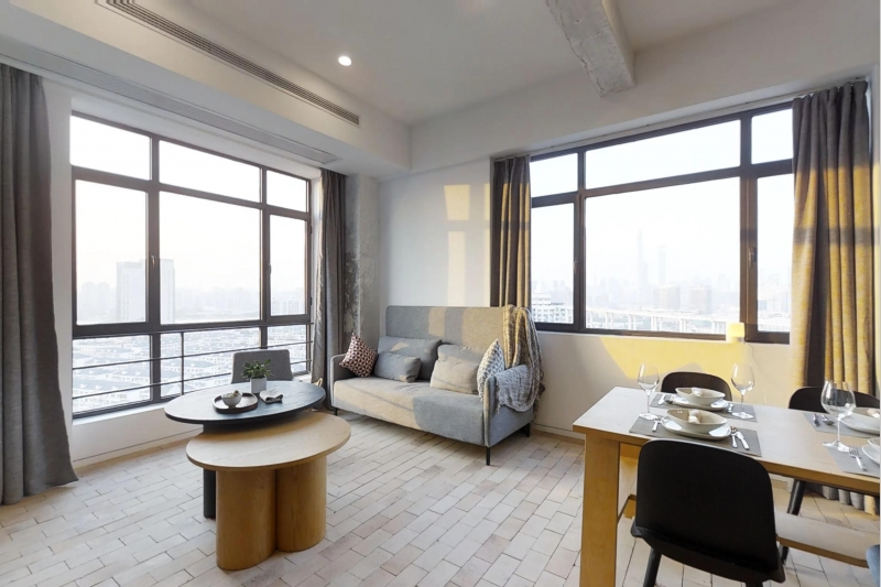 Rm 1807 Base Living Pusan 2 Bed with Roof Terrace