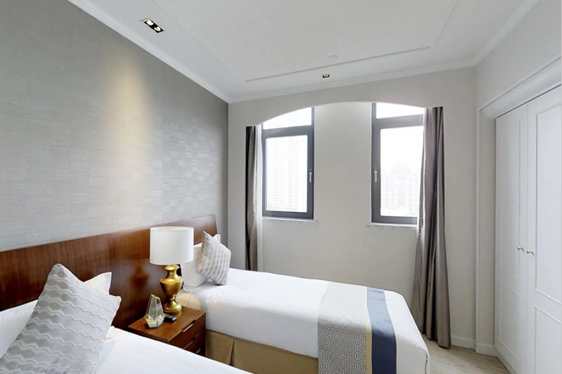 Rm 909 Green Court Serviced Apartment People's Square-2 Bedrooms