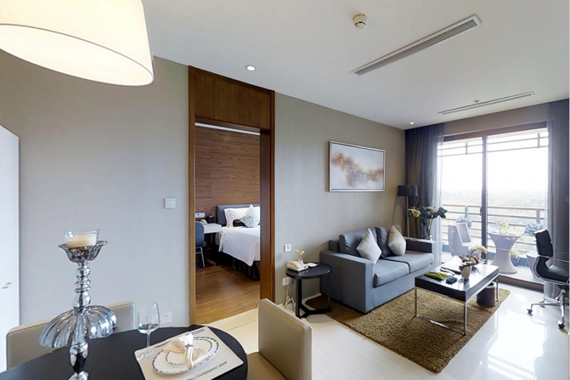 Rm A-602 Green Court Serviced Apartment One Bedroom