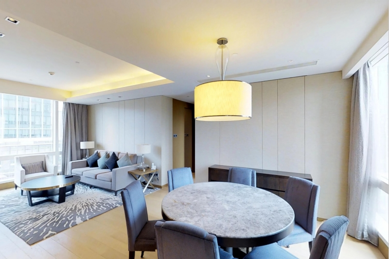 Rm 1009 Kerry Residence Jing An Two Bedroom Apartment