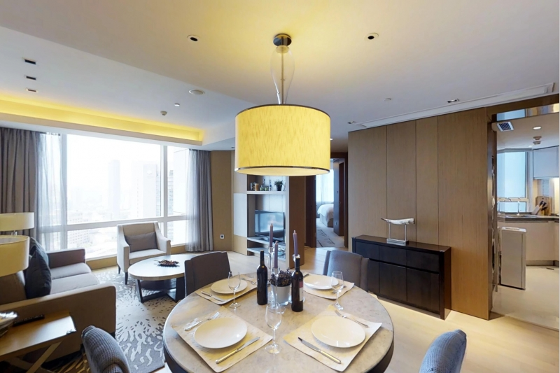 Rm 2608 Kerry Residence Jing An Two Bedroom Apartment