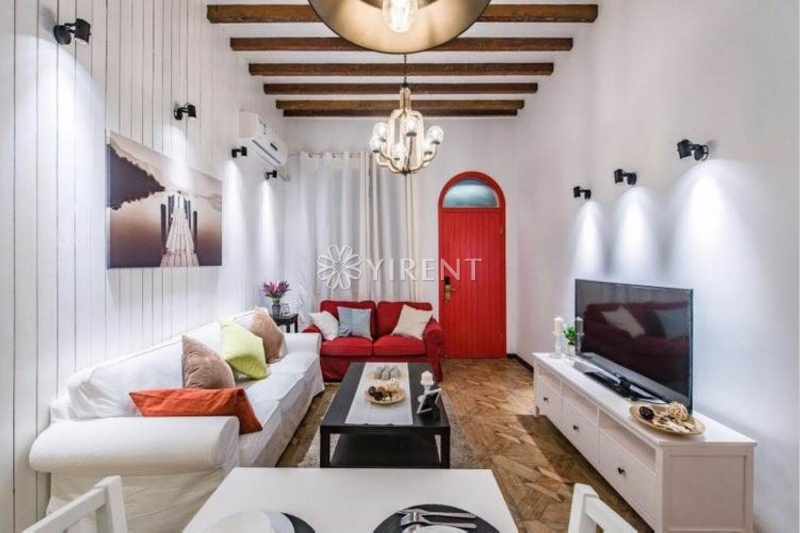 Detached Lane House on Xiangyang S Rd with Terrace, Floor Heating and Wall Heating