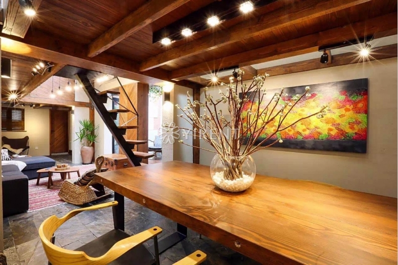 Detached Lane House on Xikang Rd with Floor Heating, Roof Terrace and Private Yard
