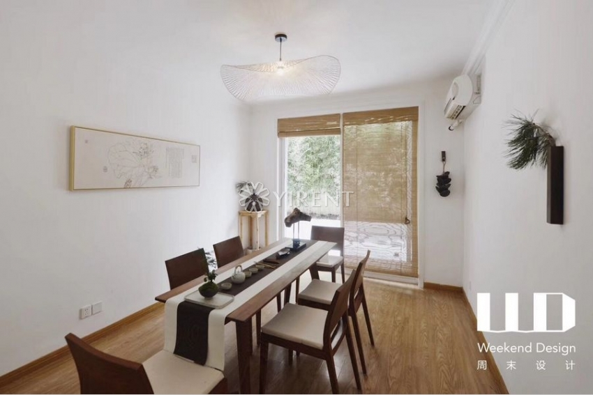 Newly Renovated Lane House on Changle Rd with 50 sqm Garden